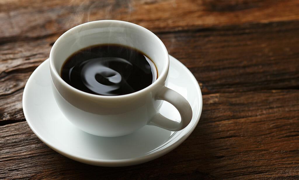 食後のコーヒーは無料です!